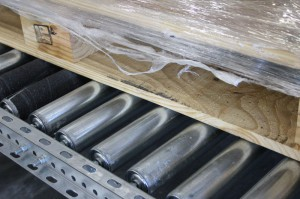 Complete Width Pallet Support Rollers