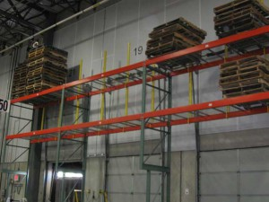 Dock Door Overhead Storage Pallet Rack
