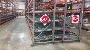 Dura-Flo Carton Flow Rack