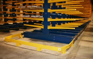 Cantilever Rack Protective Aisle Guard