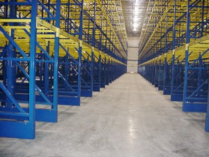 Structural Pallet Rack for Freezer Application