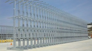 Lumber Rack Galvanized Outdoor Cantilever