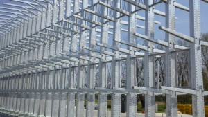 Galvanized Tapered Arm Cantilever Rack