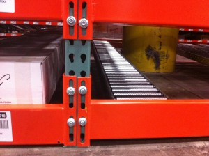 Infinitely Adjustable Connector For Pallet Racking Beams