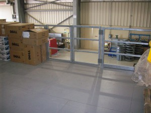 Resin Deck Floor On Steel Mezzanine