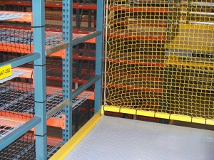 Safety Netting For Pick Module Gate
