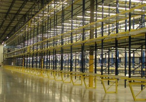 Offset Leg Structural Pallet Rack Post