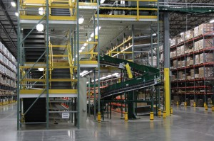 Integrated Systems with Conveyor & Pallet Rack