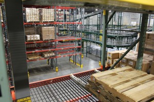 Pick Module Pallet Flow Racking System