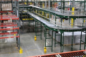 Pallet Rack Integration in Distribution Center