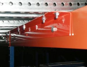 Pallet Flow Structural Center Support