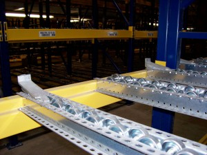 Pallet Flow Rack Metal Stop