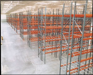 Pallet Rack Uprights and Beams