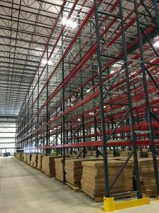 Pallet Racking Aisle Rack Bays with Aisle