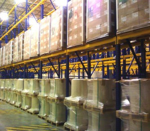 Heavy Load Warehouse Storage with Pallet Racking
