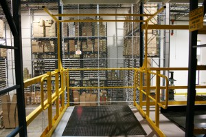 Pick Module Safety Gate Installation