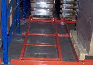 Push Back Cart Manufactured From Structural Steel