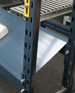Tilt Tray for RhinoTrac on T-Bolt Pallet Rack