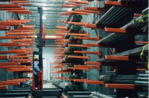 Cantilever Rack Roll Formed Arms For Pipe Storage