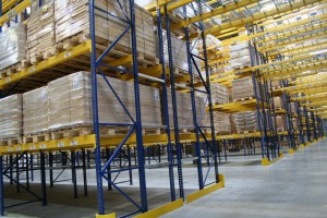 Structural Pallet Racking In Warehouse