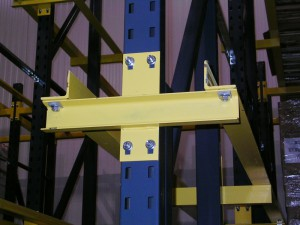 Simple Structural Drive-In Rack Arm