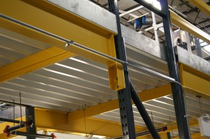 Pick Module Floor Support System