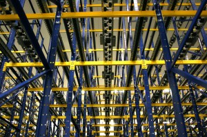 Pallet Flow Rack From Warehouse Floor
