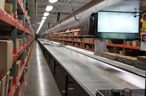Product Flow for Picking at Conveyor in Pick Module