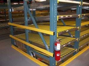 Carton Flow Rack Slope On Pick Module
