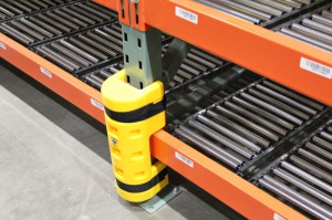 Plastic Add-on Column Protector for Impact