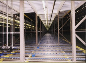 Deep Lane Pallet Flow Rack