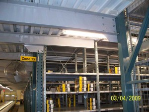 Pick Module Structural Floor Support System