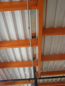 Pick Module Floor Supports and Metal B-Deck