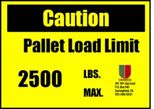 Load Plaque RMI Compliance