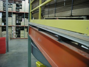 Side View Steel Mezzanine Flooring System