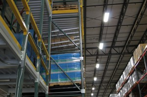 RhinoTrac Carton Flow in Multi-level Pick Module