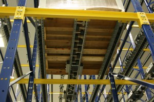 Pallet Flow Rack Below Lane