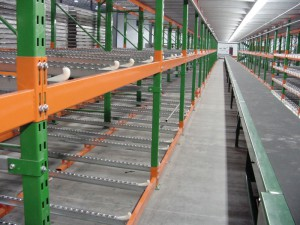 Pallet Flow With Conveyor