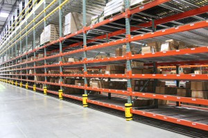 Pick Module Aisle Installation with RhinoTrac Carton Flow