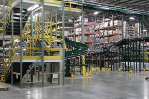 Pick Module End Aisle View