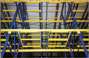 Multi-Level Push Back Racking
