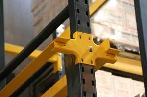 Unarco Structural Rails and Drive-Thru Arms