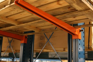 Cantilever Rack Arm View From Below