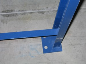 Structural Pallet Rack Bracing Weldment