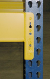 Structural Interchangeable Pallet Rack with Roll-Formed Beam – Hybrid Rack