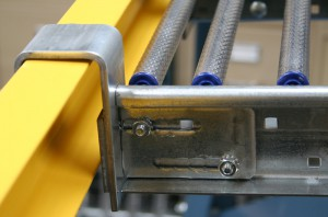 Structural Beam Bracket for RhinoTrac Carton Flow Rack