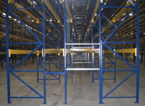 Structural Pallet Rack Row Spacer