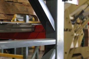 Mitre Bracing on Closed Tube Upright