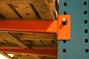 Tapered Cantilever Rack Arms Attached to Cantilever Column