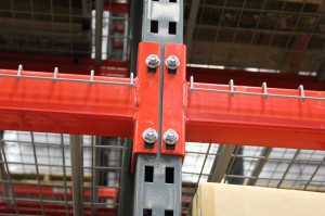 Tbolt Connector on 3×3 Pallet Rack